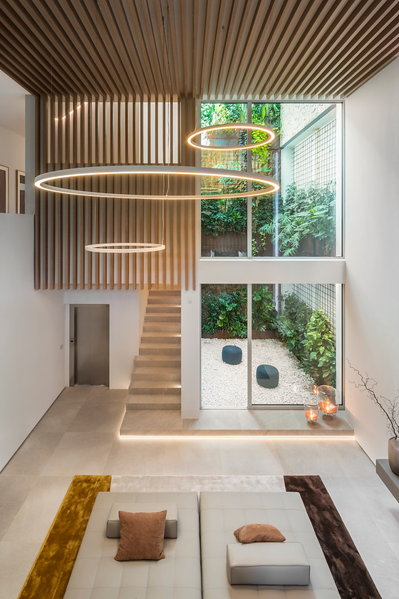Lichtdesign für casasdelmar in Mallorca - eine sehr inspirierende Lichtarbeit