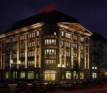 Fassadenlicht in Berlin - Denkmal im Licht