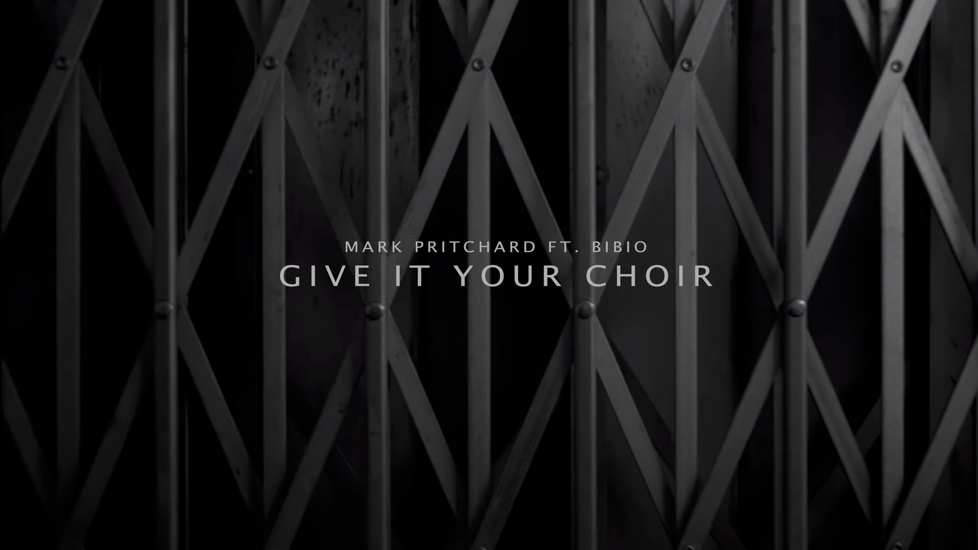 Mark Pritchard, 'Give it your choir' music video, Dec 2016