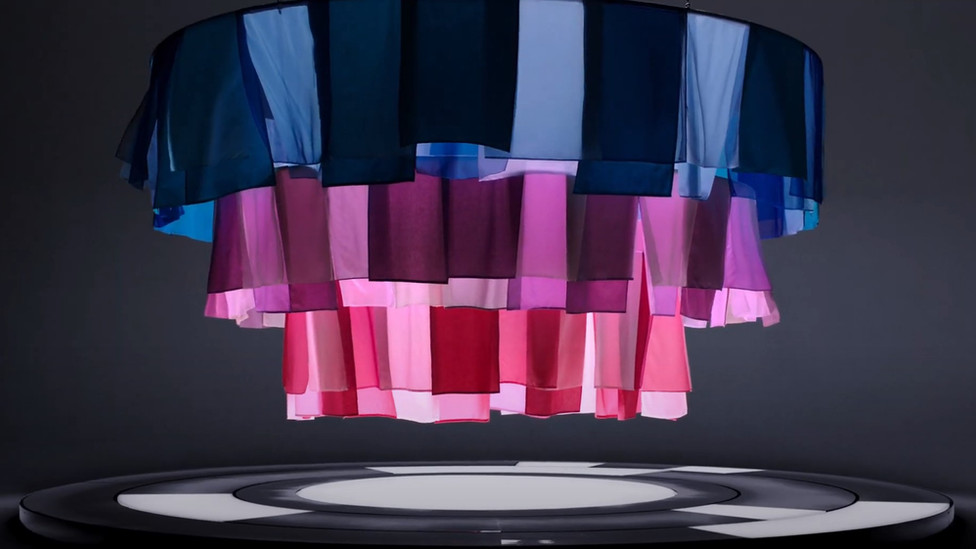 Miele, 'performance', commercial; Role: Fabric installation maker