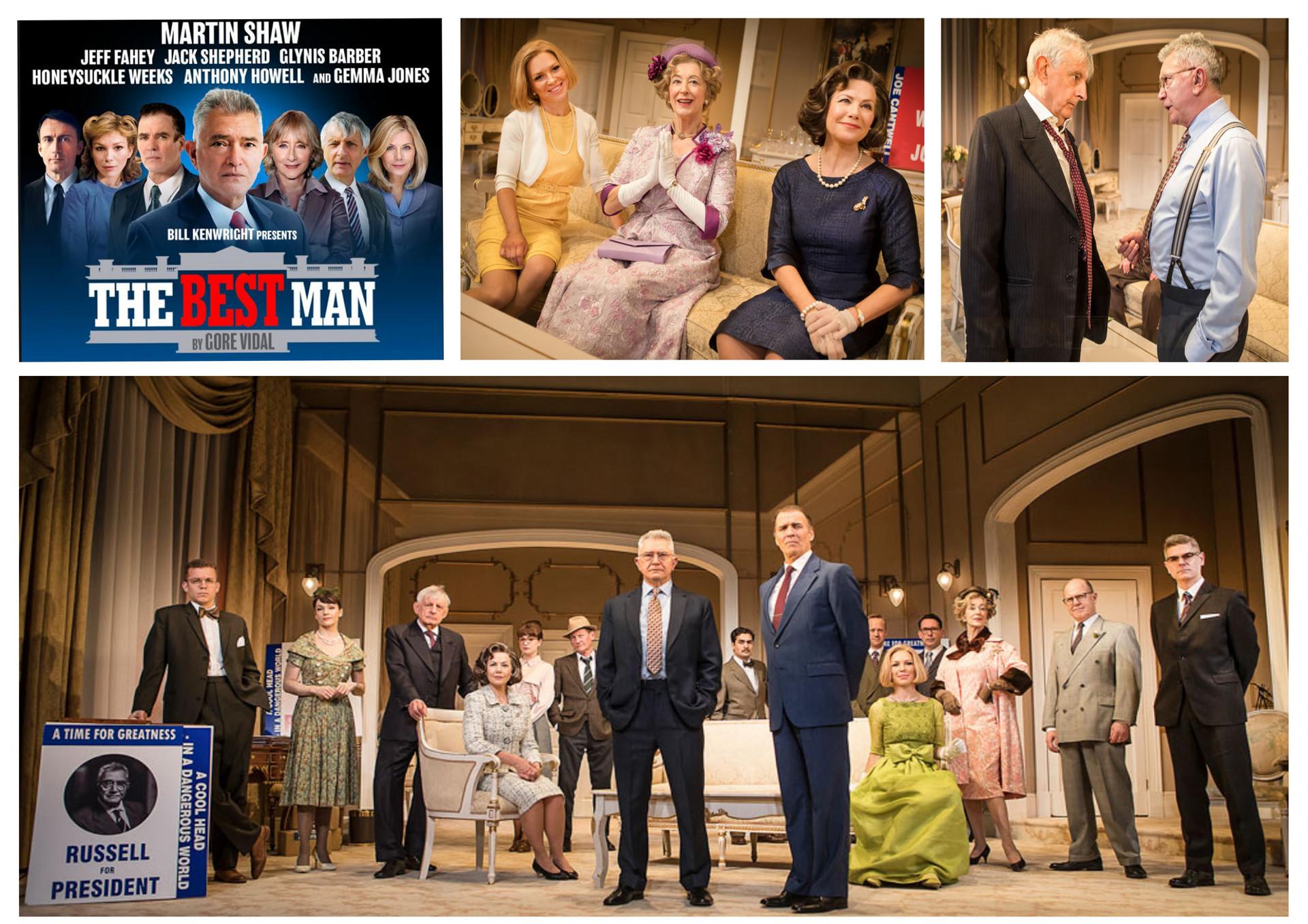'The Best Man', Playhouse Theatre, Feb 2018
