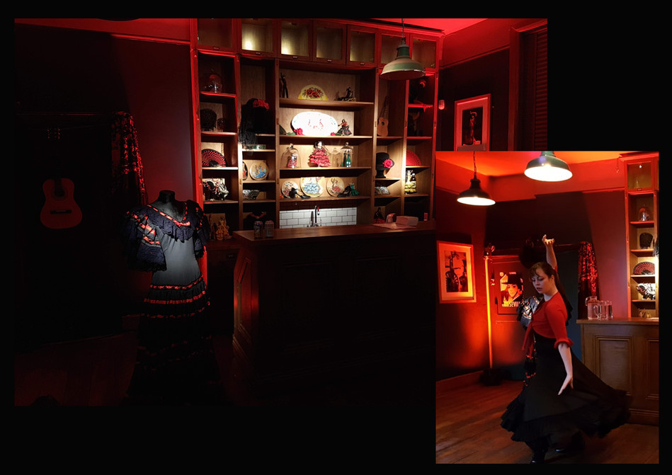 American Express 'Escapology', immersive dining experience, Role: Set dresser & buyer
