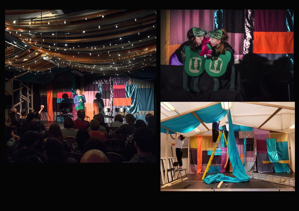 Attic Arts Club, pop up comedy & theatre festival, May 2018