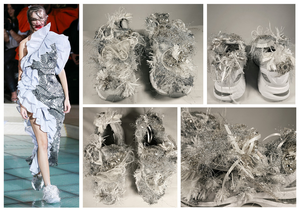 Andreas Kronthaler for Vivienne Westwood, SS18 Collection catwalk show, Sept 2017
