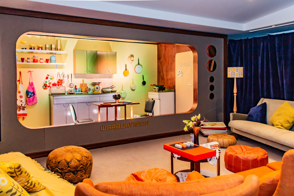 Warburtons 'Bagel Bonanza', immersive dining experience; Role: Set dresser & buyer