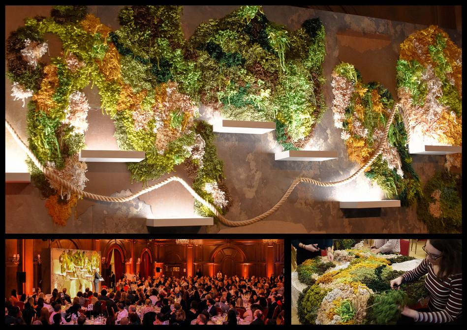 Helen Bamber Foundation, 'Flowers & stones', annual gala dinner, hosted by Emma Thompson, Role: Set Designer & maker