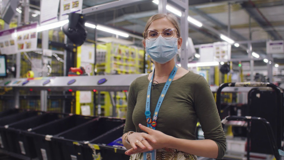 Amazon Fulfillment Center Video Tour; Role: Art Director