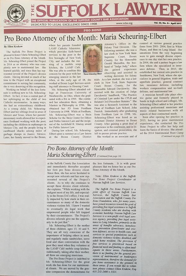 Suffolk Lawyer Newspaper