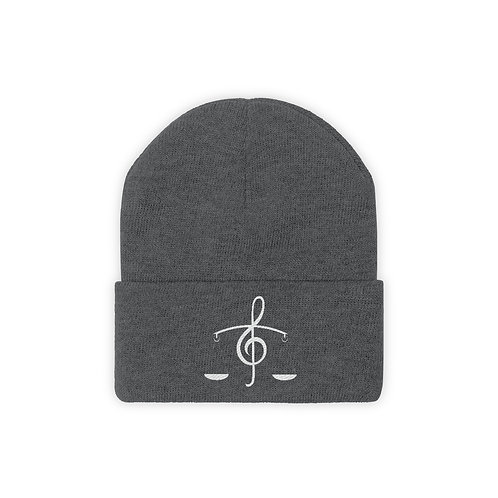 Music Logo - Knit Beanie