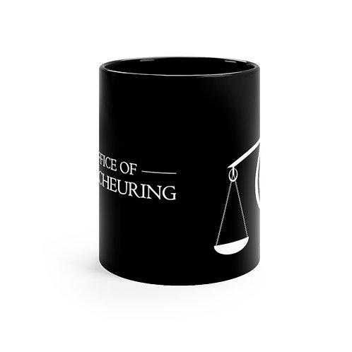 Music Logo - Black mug 11oz