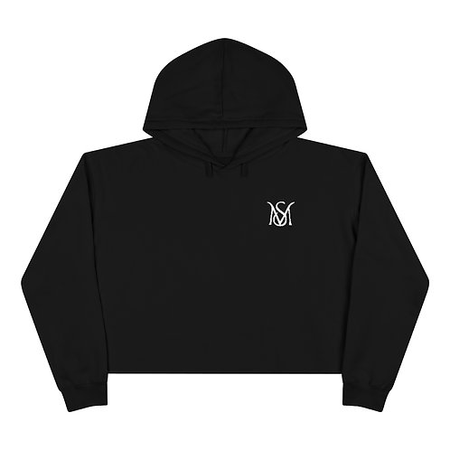 (Black or White) Crop Hoodie