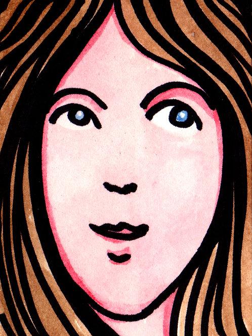 Kelly Original Watercololor Sketch