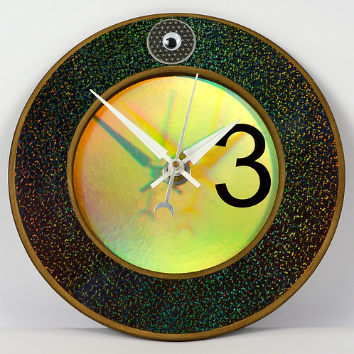 Visionary Handcrafted Art Clock (Prototype)