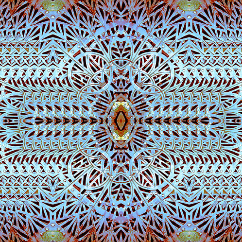 """Thanks to the Wonder"" digital art file based on original photography by Portland, Oregon, artist Justin Potts"