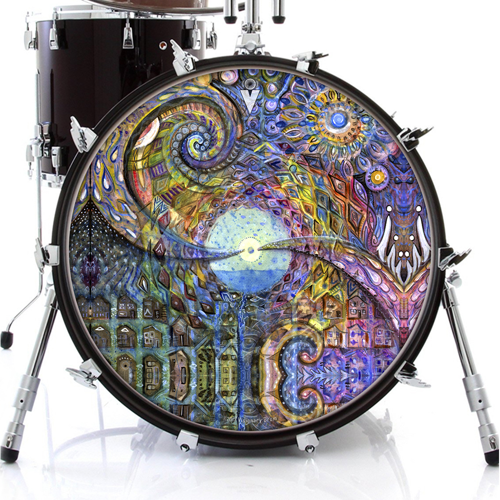 water consciousness_drum_skin_on_bass.jp
