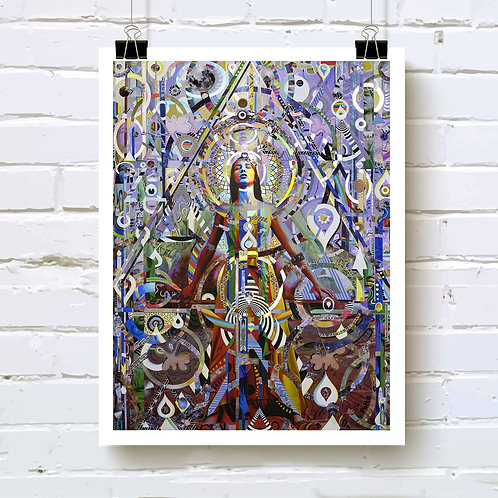 Know Your Depth, Know Your Power Art Print