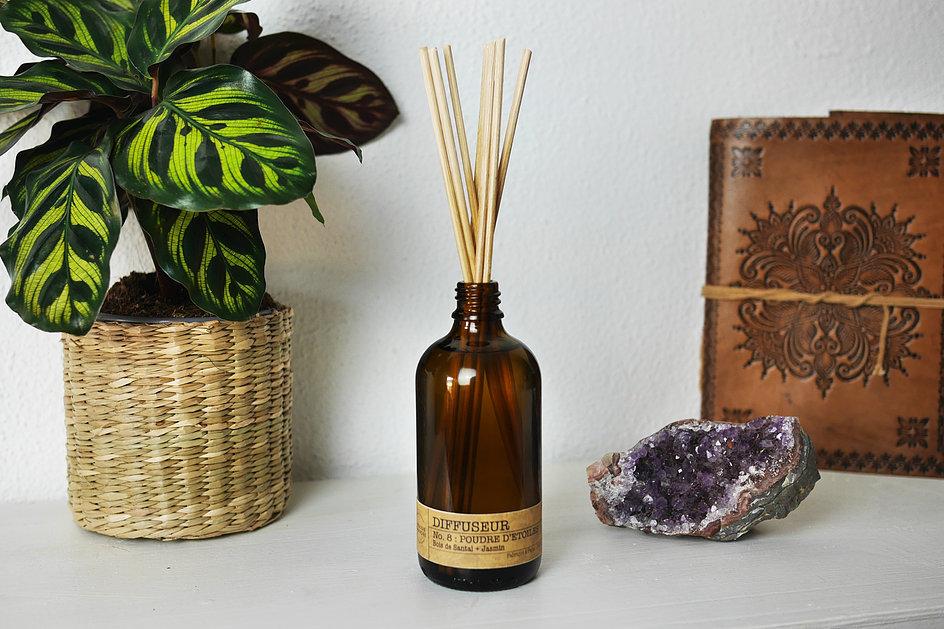 Diffuseur de parfum Poudre d'Étoiles   La Bougie Herbivore