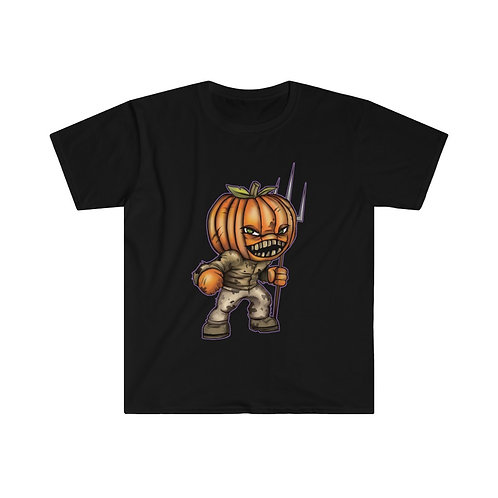 Pumpkin Head T-shirt (Dark Version)