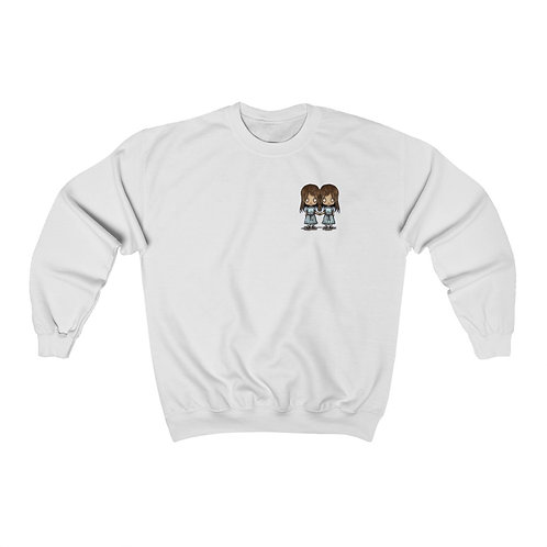 The Shining Twins Unisex Heavy Blend™ Crewneck Sweatshirt