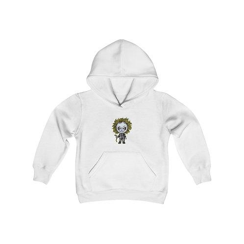 Beetlejuice Youth Heavy Blend Hooded Sweatshirt