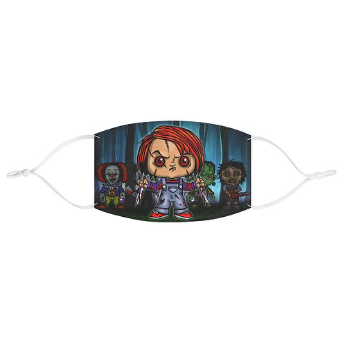 Chuckie & Friends Face Mask