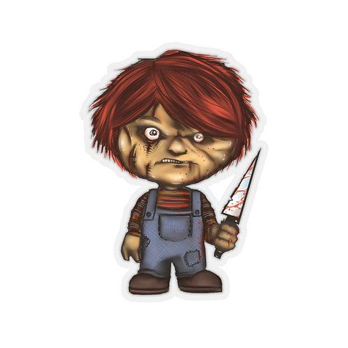 Chuckie Kiss Cut Sticker