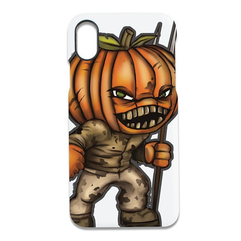 Pumpkin Head iPhone Cover