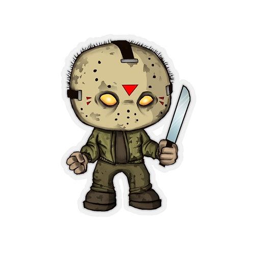 Jason Kiss Cut Sticker