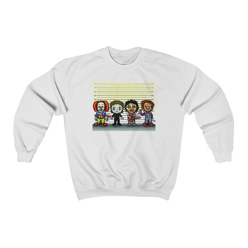 The Usual Suspects Unisex Heavy Blend™ Crewneck Sweatshirt
