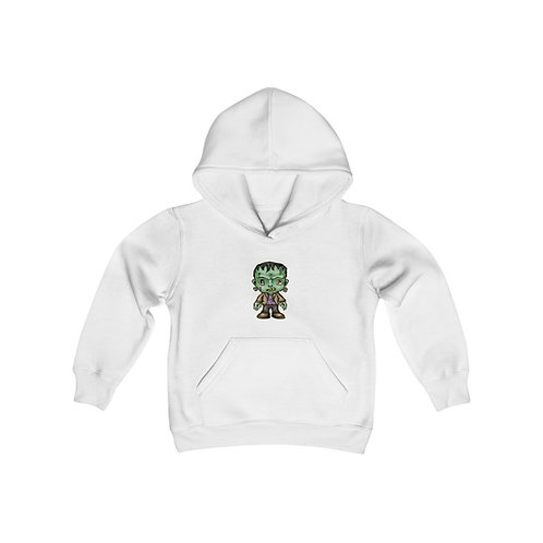 Frankenstein Youth Heavy Blend Hooded Sweatshirt