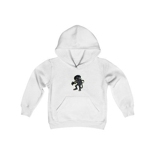 Aliens Youth Heavy Blend Hooded Sweatshirt