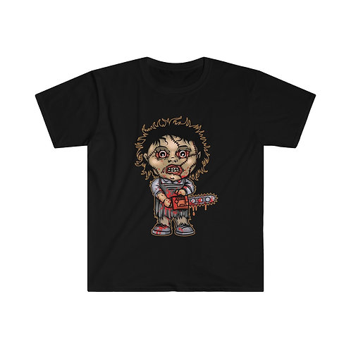 Leatherface T-shirt (Dark Version)