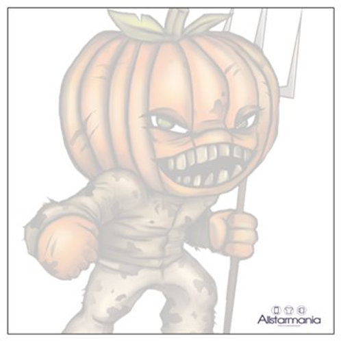 Pumpkin Head Sticky Note Pad
