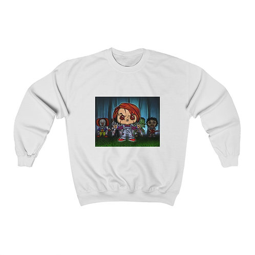 Chuckie & Friends Unisex Heavy Blend™ Crewneck Sweatshirt