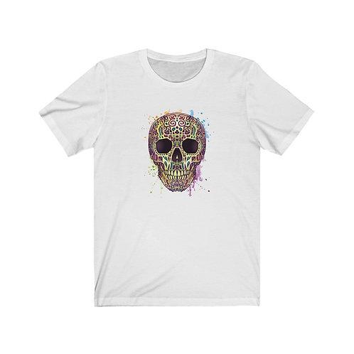 Colorful Skull Unisex Short Sleeve Tee
