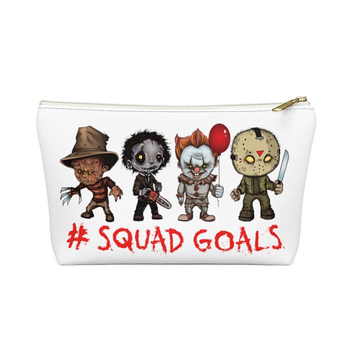 #Squadgoals Accessory Pouch w T-bottom