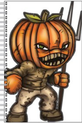 Pumpkin Head Notebook