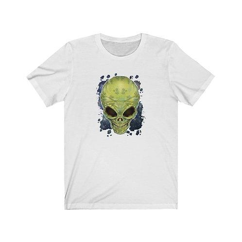 Alien Skull Unisex Short Sleeve Tee