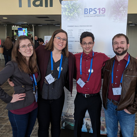 Biophysical Society Meeting 2019
