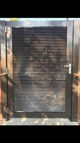 Privacy Pedestrian Gate #2