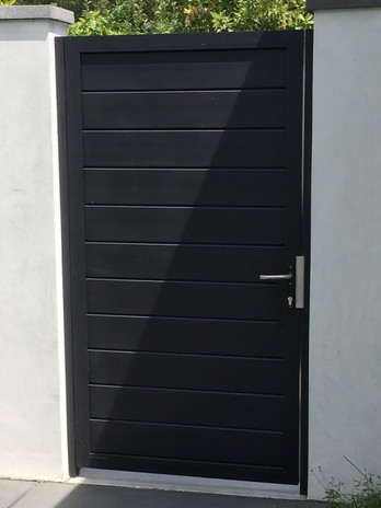Privacy Pedestrian Door #1
