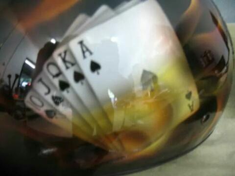 Airbrushed Helmet