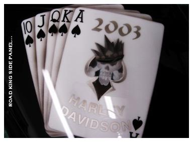 Airbrushed Cards