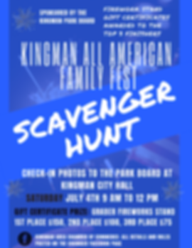 2020 4th of july scavenger hunt page1.pn