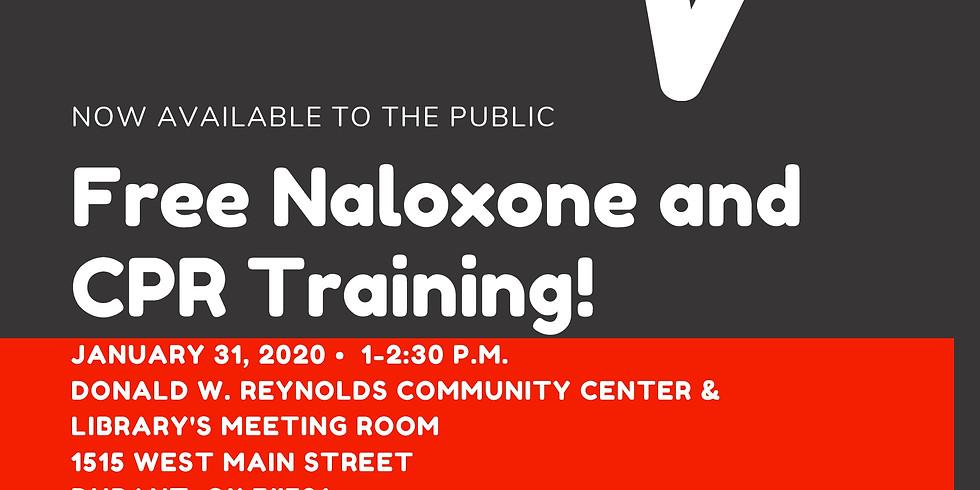 Free Naloxone and CPR Training