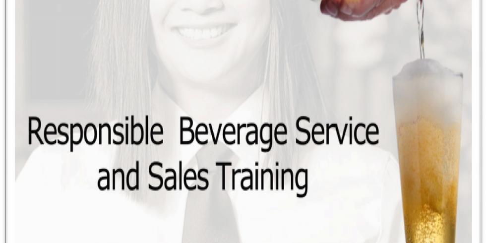 Responsible Beverage Service and Sales Training (RBSS) (4)