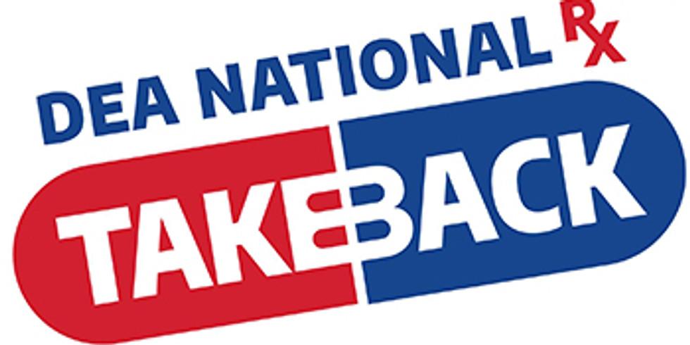 DEA National Rx Take Back Day (Pontotoc County)