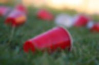 Red Solo Cups on Ground (shutterstock_33