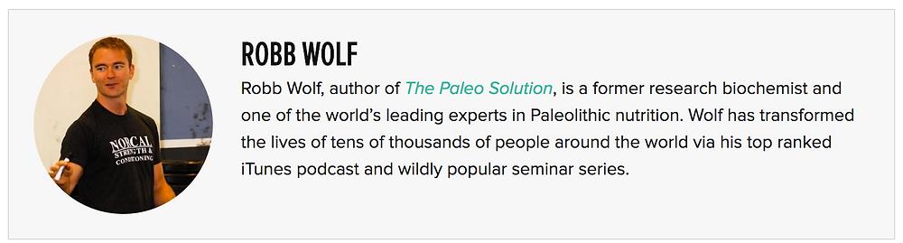 Robb Wolf bio
