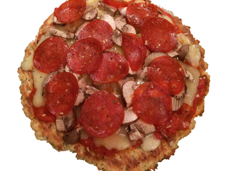 Low-Carb Pizza So Good it's Stupid
